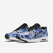 NIKE AIR MAX 1 ULTRA LOTC QS TOKYO WOMENS SHOES SIZE US 9 UK 6.5 BLUE 747105-401