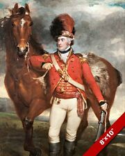 MAJOR GEORGE O'SHEA LOYAL CORK LEGION & HORSE PAINTING ART REAL CANVAS PRINT