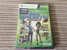 XBOX 360 KINECT SPORTS SEASON 2 GAME NEW & SEALED