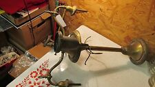 Antique Brass Gas / Electric 4 Arm Chandelier