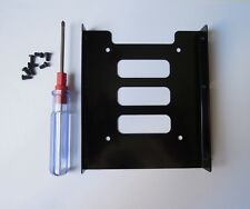 """2.5"""" TO 3.5""""  SSD Hard Drive Adapter Metal Muonting Bracket HDD Holder for PC"""