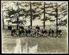 Antique Football Team Photo 1932 Roxbury School Cheshire Connecticut CT