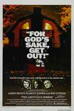 Amityville Horror 1979 Poster 01 A3 Box Canvas Print