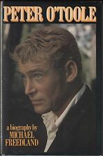 Peter O'Toole: A Biography by Michael Freedland (1982) Hardcover/DJ 1ST US ILLUS