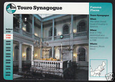 TOURO SYNAGOGUE Newport Rhode Island Jewish House GROLIER STORY OF AMERICA CARD