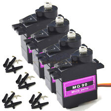 4 Pcs MG90 Metal Geared Micro Servo For Plane Helicopter Boat Car