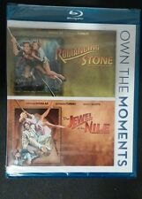 Romancing the Stone/Jewel of the Nile (Blu-ray Disc,2012,2-Disc Set)NEW-Free S&H