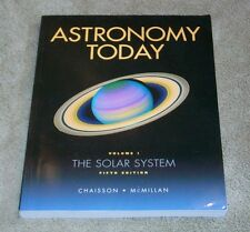 Astronomy Today Vol-1, fifth edition w/ CD-ROM, by Chaisson, McMillan  paperback