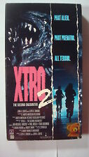 XTRO 2 The Second Encounter Vtg VHS 1991 Alien Predator SciFi Killing Rampage