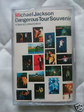 Michael Jackson K7 Ultra Rare Dangerous Tour Souvenir 1992 Indonesia E-3221093