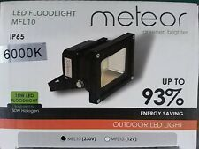 Meteor greener brighter Mini IP65 10W LED Floodlight
