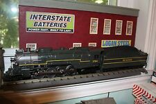 Willams O gauge Berkshire steam Locomotive Reading 2-8-4 w/digital whisile&bell
