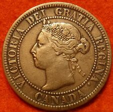 1899 High-Grade CANADA LARGE CENT Victoria COIN NoRes CANADIAN