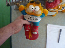 """Garfield Plush Toy """"Life in the Fast Lane"""""""
