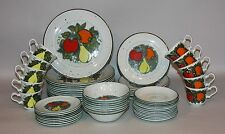 Johnson Brothers England Ironstone Pimlico Chelsea Fruit 58 Pieces Service for 8