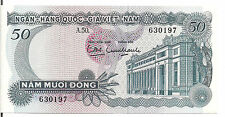VIETNAM SOUTH, 50 DONG, P#25, ND(1969), UNC