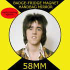 Bay City Rollers - woody- 58 mm BADGE-FRIDGE MAGNET-BAG MIRROR