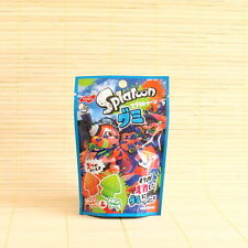 Japan SPLATOON GUMMY - MELON & ORANGE soda - Candy Japanese Nobel Soft Gummi