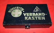 WWII German Medic Tin Box VERBANDKASTEN 1ST AID