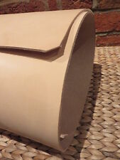 "24 ""X 6"" STRISCIA naturale UTENSILI VERDURA Tan Leather. 3,5 mm -4 mm di spessore"
