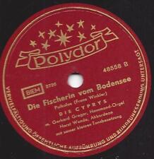 Die Cyprys mit Horst Wende 1954 : Die Fischerin vom Bodensee + Eisbär Song