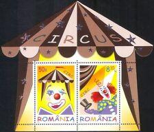 Romania 2011 Clowns/Circus/Big Top/Clown/Entertainment/Animation 2v m/s (b9573c)