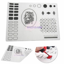 Nail Art Silicone WorkSpace Stamping Plate Washable Mat Pad Table Cover Transfer