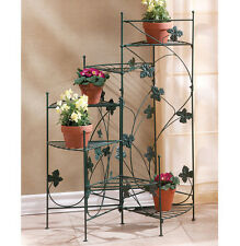 SPIRAL IVY 6 SHELVES METAL PLANT POT STAND PLANTER NEW