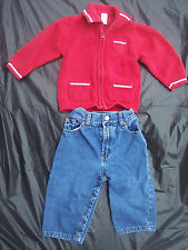 GAP Nautica Baby Boy Sz 6-12 Months Outfit Set Pants Sweater Cardigan Top Jeans