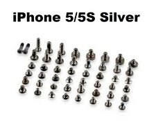 Replacement Full Screw Set Fits Apple iPhone 5 & 5S + SILVER Pentalobe Screw NEW