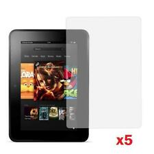 Amazon Kindle Fire HD 7.0 inch (2013 Edition) CLEAR Screen Protector - 5 Pack