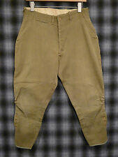 Vintage 30s 40s SUMMERS MFG Corduroy Motorcycle Horse Riding Pants Jodphurs RARE