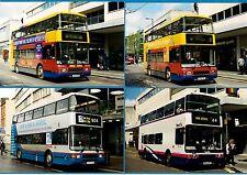 4 Bus Photos - First City Line Bristol: NCounties Palatine Volvo Olympians: 1998