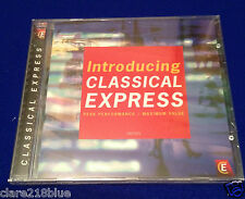 NEW SEALED Introducing Classical Express (2001) CD 20 Excertps