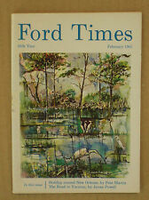 February 1965 Ford Times magazine Behrend Brothers Baltimore MD Falcon
