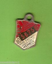 #D69. 1980-81  RYDE EASTWOOD    RUGBY  LEAGUE  CLUB  MEMBER  BADGE #5675