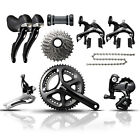 Shimano 105 - 5800 - 11 Speed - Road Bike Groupset - Black