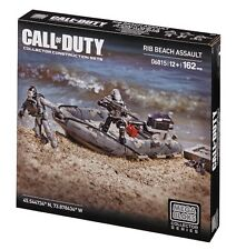 MEGA BLOKS COD 162 pcs SET 06815 Call of Duty Rib Beach Assault Collector