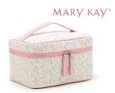Mary Kay Women Folding Pink Makeup toiletry bag Cosmetic Storage Box