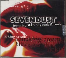 SEVENDUST - Licking cream SKIN SKUNK ANANSIE CDs SINGLE 1999 NEAR MINT 4 TRACKS