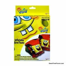 SPONGEBOB Floating Inflatable Arm Floats Pair 2PC Floaties Squarepants Gift Kids
