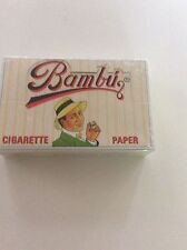 BAMBU SMALL ROLLING PAPERS 100  BOOKLETS 1 BOX !