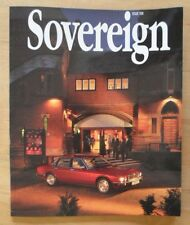 JAGUAR SOVEREIGN orig 1994 International Magazine Brochure - Edition 10