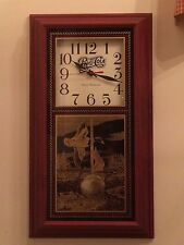 "New! Pepsi-Cola & Duck Theme Pendulum Clock 24.5"" Tall by Hanover"