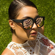 "QUAY BLACK/PINK  ""ON THE PROWL""  MIRROR  SUNGLASSES"