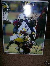 "JADEVEON CLOWNEY SOUTH CAROLINA SIGNED 11X14 PHOTO W/JSA COA ""MICHIGAN HIT"" #2"