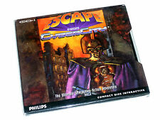 NEW SEALED ESCAPE FROM CYBERCITY Phillips CDi cd-i CD ROM Game Boxed Eng US RARE