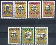 Honduras 1966 POPE PAUL VI VISIT to UNO #C380-86 CV.$4.90 MNH RELIGION