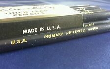 Vintage Retro 12 Pack Thick Lead Pencils Gold Print USA Primary Writewell 4404