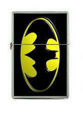 Batman Logo DC Comics Flip Top Windproof Flip Top Lighter Metal NFL Football